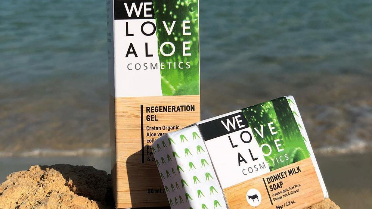 12.90€ από 17.00€ για μια Regeneration gel  we love aloe cosmetics 50ml